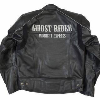 バイク牛革ジャケット Lサイズ 牛革パンツ32サイズ(W80-8...