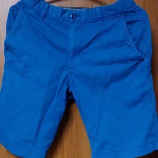 UNIQLO チノハーフパンツ ショートパンツ Sサイズ ブルー