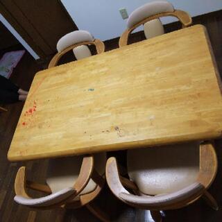 食卓テーブルセット2000円