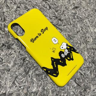 iPhoneケース スヌーピー