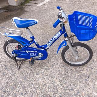【ネット決済】②ブリヂストン エコキッズ キッズ 自転車 14インチ