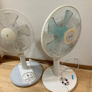 扇風機 2台