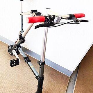 超コンパクト&軽量折り畳み自転車《A-RideX》☆美車・…