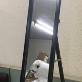 スタンドミラー 日本製 高品質鏡 木製フレーム サイズ高さ約15...