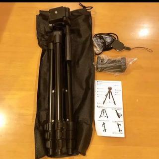 【新品未使用】自撮り棒 スマホ三脚 360 回転可能 3W…