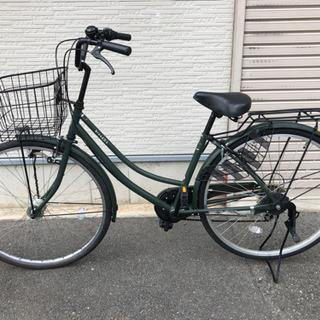 ❤️商談中✨自転車 27インチ グリーン