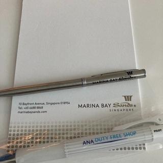 差し上げます シンガポール マリーナサンズベイホテルのボールペン...