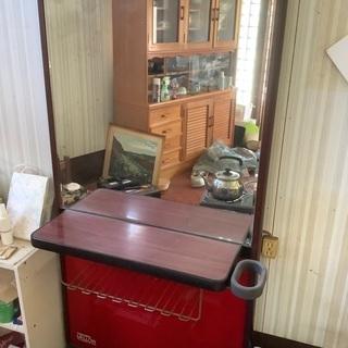 美容院で使ってた鏡台 2つ