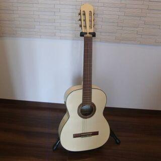 IWAMA楽器 日本製 クラシックギター 白ホワイト