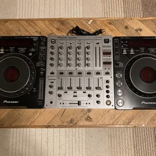 pioneer DJM-600 CDJ-1000 MK2 ×2台...
