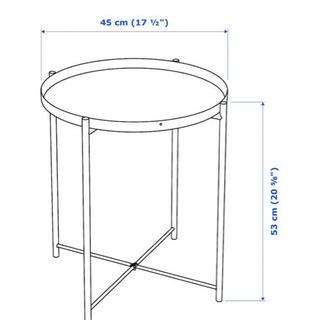 IKEA トレイテーブル GLADOM