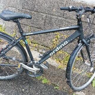 スポーツタイプ27インチギヤ付き自転車