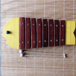 美品 ボーネルンド おさかな木琴 定価11,000円 本格…