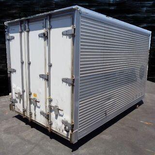 トラックコンテナ 箱 2t 3200x1860x1930 冷凍冷...