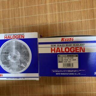 【ネット決済】丸目(小糸社製)H4ハロゲンヘッドライト未開封品