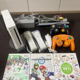 【ネット決済】Nintendo Wii 本体一式、マリオカート他...