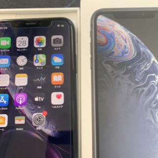 【SIMフリー】ドコモ◯判定 iPhoneXR 64GB ブラッ...