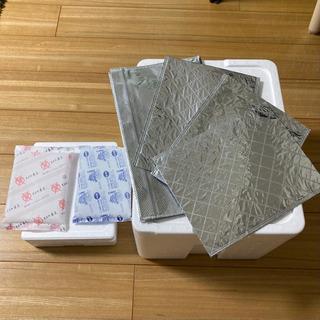 【差し上げます】保冷ボックス2個&保冷バッグ4枚セット 大保冷剤付き