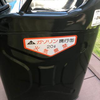【ネット決済】ガソリン缶 ジープ缶