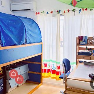 イケア IKEA★KURA キューラ リバーシブルベッドと…