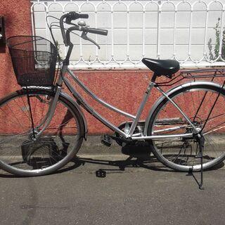 26インチのママチャリ 見た目は綺麗な6段変速自転車です。