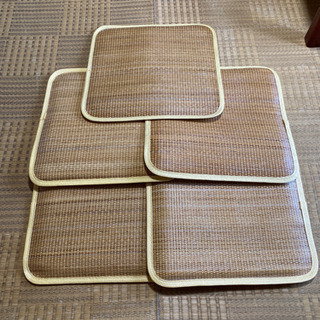 竹製 座布団 5枚
