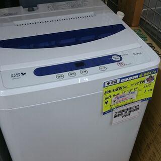 (単身の方などに)ヤマダ電機 全自動洗濯機5.0k 201…