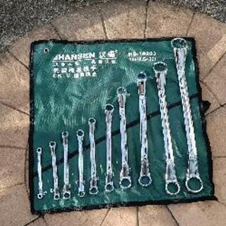 メガネレンチ 10本セット 工具