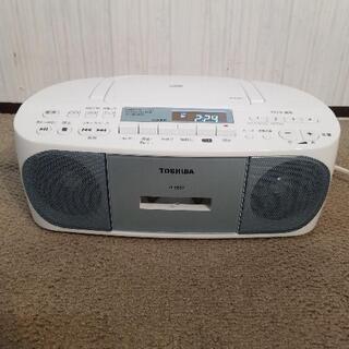 【美品】東芝 CDラジオカセットレコーダー TY-CDS7 20...