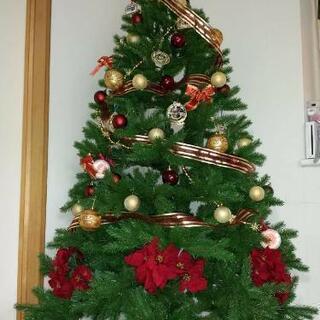 【ネット決済】クリスマスツリー 180センチ