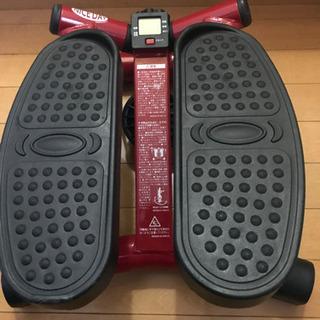 足踏み式 健康器具 ステッパー NICE DAY レッド ND-1R