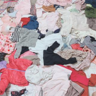 新生児〜90cmの服 75点くらいあります。まとめて売り。