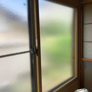 【2組あります】LIXIL サッシ 型板ガラス