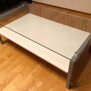 センターテーブル ニトリ ガラス ローテーブル リビング