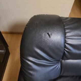三人掛ソファー - 家具
