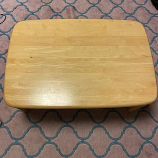 【ネット決済】木材 ローテーブル 折り畳み