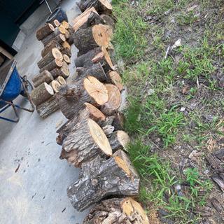 薪 広葉樹 玉切り