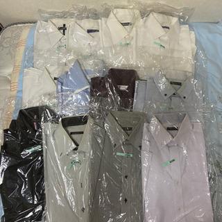 ワイシャツ メンズシャツ 白シャツ 柄シャツ 12着 まと…