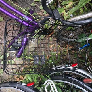 自転車のカゴ2つ、1つでも購入可能