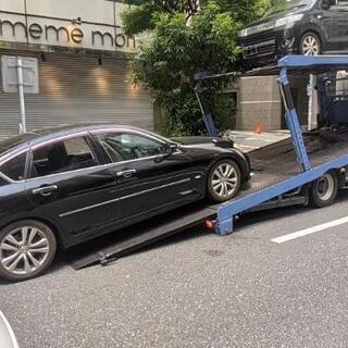 レッカー車で廃車までやります!お車の引き取り処分致します