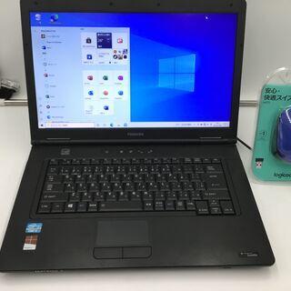 【美品】東芝 ノートパソコン Win10 最新office…