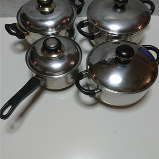 ステンレス手鍋 4個セット