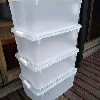 蓋付き小物整理ボックスB4  4個セット カインズ製