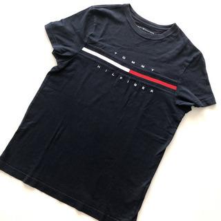 メンズS TOMMY HILFIGER 半袖Tシャツ ネイビー