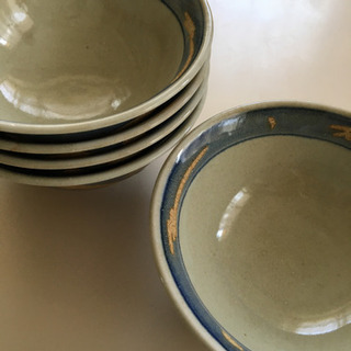 どんぶり 丼 皿 陶器 新品未使用 5個