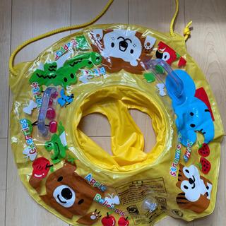 子ども用浮き輪 幼児用 足つき浮輪