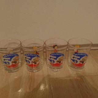 スヌーピー グラス 4個セット