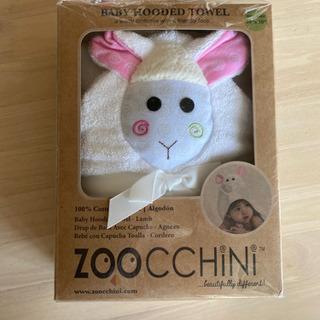 zoocchini ズッキーニ ベビーフード付きタオル