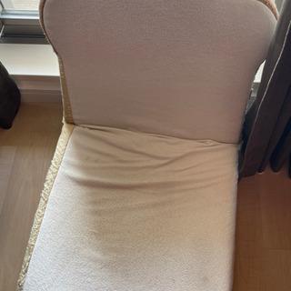 日本製 低反発 トースト 座椅子