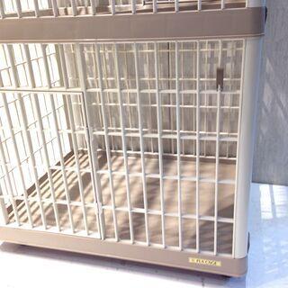 ★3772★アイリスオーヤマ プラスチック製3段 キャットケージ キャスター付き 猫 ペットハウス PLACAGE - 高浜市